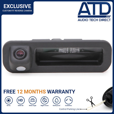 Rear View Boot Handle LED Reversing Reverse Camera For Ford Focus Mk3 (2012-On)