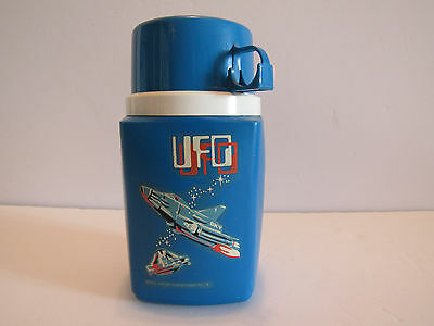 Vintage UFO TV Show Plastic Lunch Thermos 1973 King Seeley Thermos Divison