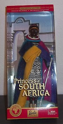 BARBIE ~ Dolls of the World Collection ~ 2002 ~ Princess of SOUTH AFRICA ~#56218