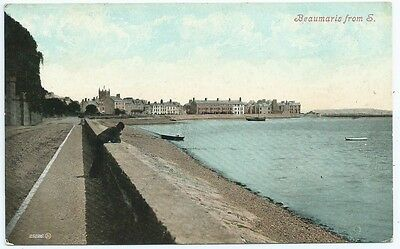 Vintage Postcard. Beaumaris From The South. Unused. Ref:5/20