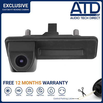 Direct Fit Boot Handle Fit Rear Camera Reversing Backup For Skoda Octavia Mk2 II