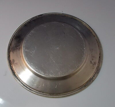 """Vintage Silverplate Small Charger 6"""" Plate Pin Tray FB Rogers"""