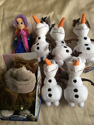 ASSORTMENT OF SOFT TOYS  NEW WITH TAGS OFFICALLY LICENSED JOB LOT OF 7 (num4)
