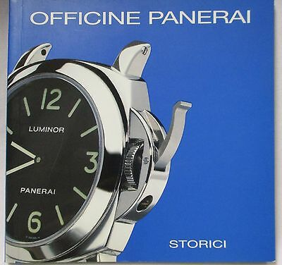 OFFICINE PANERAI Luminor & Luminor Marina Watch Instructions Brand History Book