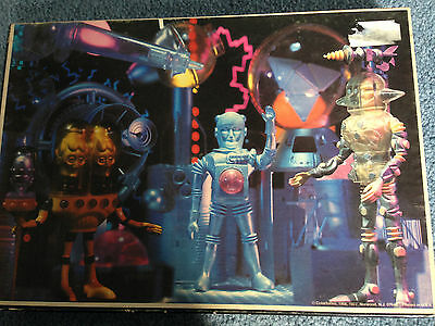 SPACE WARRIORS Vintage Colorforms Puzzle 1977 Aliens 100% Complete Free Shipping