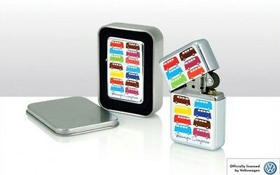 VW Splitscreen Campervan Lighter Gift Case - Away Until 27 Feb