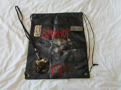 Slipknot exclusive 2016 tour vip guitar picks, cinch bag, bottle opener