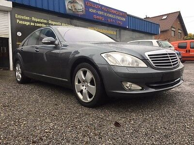 Mercedes Classe S500 Limousine/an2007/facelift/full Options/carnet/a Saisir!!!