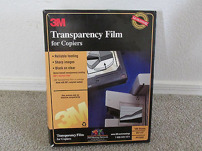 3M Transparency Film PP2500--99 Sheets