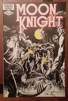 Moon Knight 21 1980 series with Brother Voodoo Marvel Comic NM