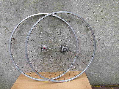 Normandy Luxe Competition Roues Jantes Mavic Velo Vintage Bicycle Wheelset 700