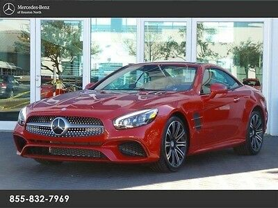 2017 Mercedes-Benz SL-Class  L450, MB CERTIFIED PRE-OWNED WARRANTY, CLEAN 1 OWNER!!