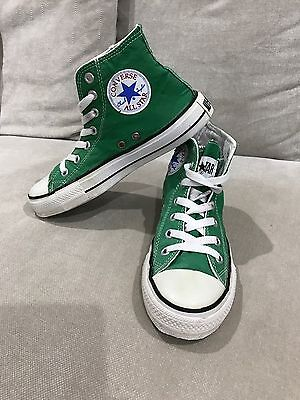 Converse All Star Chuck Taylor High tops Green Size 4 Mens Womens 6