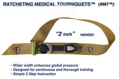 "M2 2"" Ratcheting Medical Tourniquet (Rmt) (20-0043)"