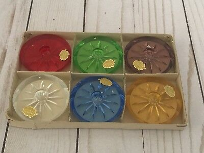 Set Of 6 vintage Made In Germany Candleholders