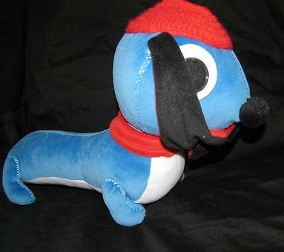 Brio Shorty the Dog Blue Stuffed Toy First Toys Soft Plush Puppy Long