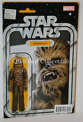 Star Wars #4 (John Tyler Christopher Chewbacca Action Figure Variant Cover)
