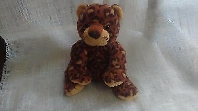 Ty Pluffiies Pokey The Leopard Retired Pluffy