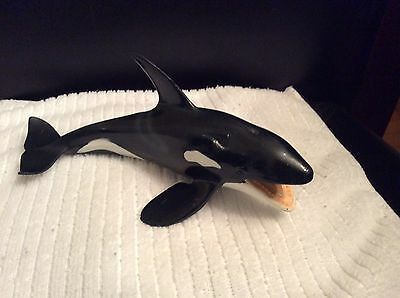 Schleich 2004 Orca Killer Whale Figure German Toy