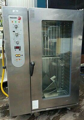 Fagor 20 Grid Commercial Combi Oven Gas