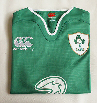 2016 Ireland Rugby Home Mens Jersey Size Medium