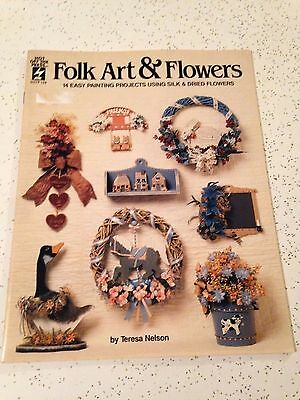 Folk Art and Flowers Hot off the Press Craft Book