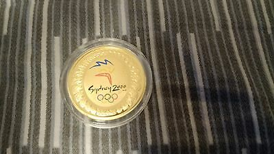 Australia 2000 Sydney Olympics $100 Gold Proof Coin - The Journey Begins
