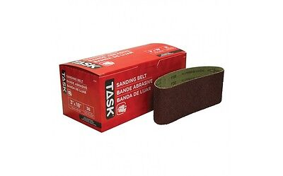 """Task Tools 31836 3""""x18"""" 36 Grit Sanding Belt for metal & wood COURROIE PONCEUSE"""