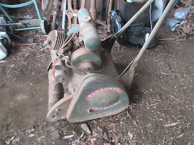 Ransomes  Ipswich  Mk V1   --Old  Vintage  Lawn  Mower-Turns  Over --Complete