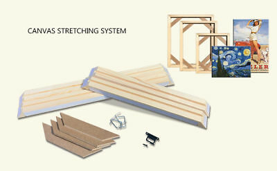 canvas Stretcher Bars, Stretching Strips For Canvas Print, custom canvas frame