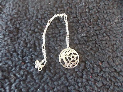 tree of life necklace with pentacle