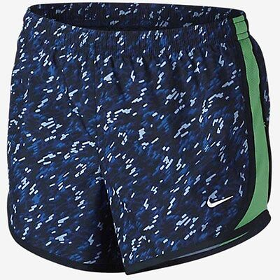 Nike Girls' Tempo All Over Abstract Print Shorts Size Medium Style 728086-455