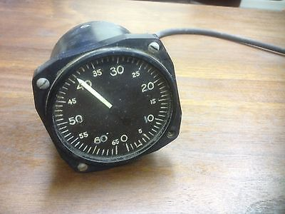 RARE WWII AIRCRAFT Pressure Gauge Manning, Maxwell & Moore, Extremly Rare