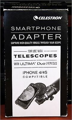 Celestron Telescope Adapter for Apple iPhone 4 / 4S Smartphone
