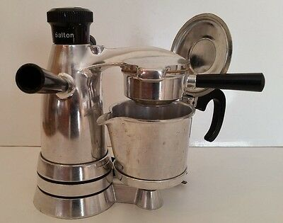 Vintage - Salton - Ex-3- Espresso -Coffee Maker - Made In Italy - Works!!!