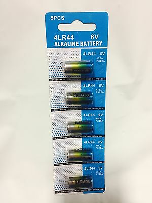 5 x  4LR44 6V BATTERY CITRONELLA BARK DOG COLLAR L1325 PX28A A544 V34PX 476A