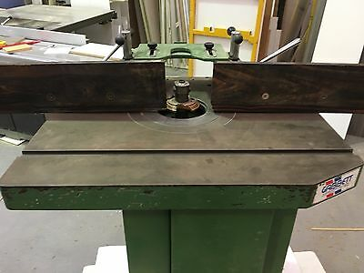 Large Industrial Spindle Moulder Cutter Router 3 Phase