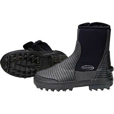 Mirage Workboot Sturdy Wetsuit Neoprene Boots Booties with Sturdy Sole Size 7