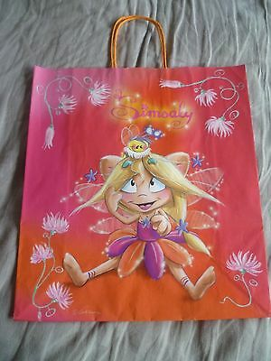 Diddl's Simsaly Fairy with Bee on Head Medium Paper Gift Bag