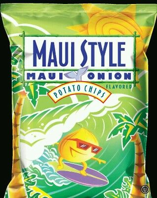 Hawaii Hawaiian Maui Style Chips Maui Onion Flavor