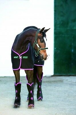 "Horseware Amigo JERSEY COOLER Wicking Sweat Rug Stable/Travel/Show 5'6""-7'0"""
