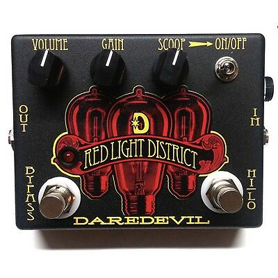 DAREDEVIL PEDALS - Red Light District Distortion Guitar Pedal