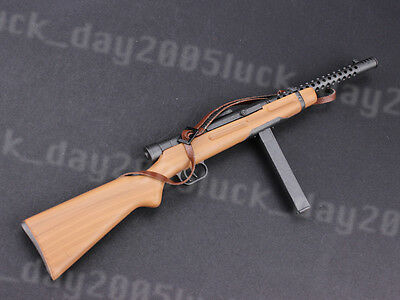 """Dragon WWII Italy Beretta M1938A Submachine Gun 1/6 Fit for 12"""" Action Fiugre"""