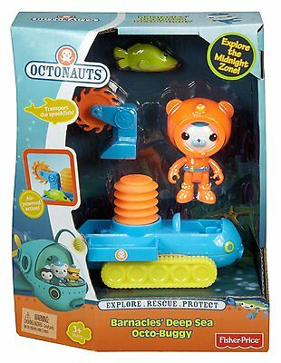Fisher Price Octonauts Barnacles Deep Sea Octo Buggy Playset Brand New Y5068