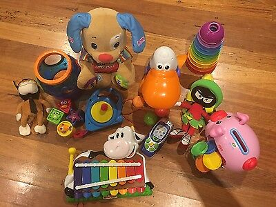 Bulk x 10 Baby Activity And Soft Toys Toys Inc Fisher Price