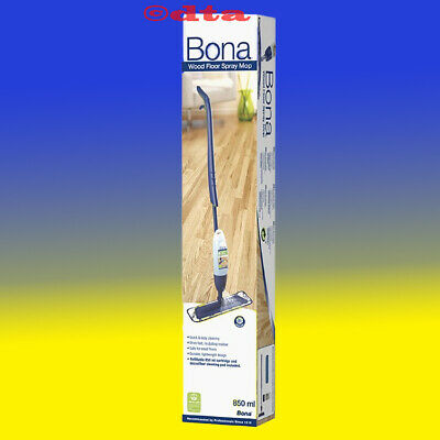 Bona Spray Mop System Kit, Flat Floor Swivel Mop Cleaner, The Best Of Its kind