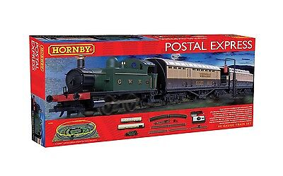 R1180 Hornby Postal Express Model Electric Train Set OO Gauge New & Boxed Gift