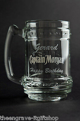 Captain Morgan Spiced Tankard -  Personalised Engraved Gift