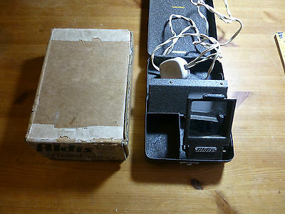Aldis Electric Slide Viewer with case and original box