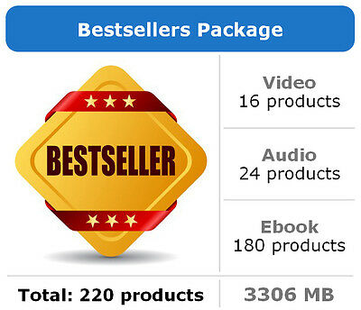 Bestsellers Package / 220 Products / Large Collection